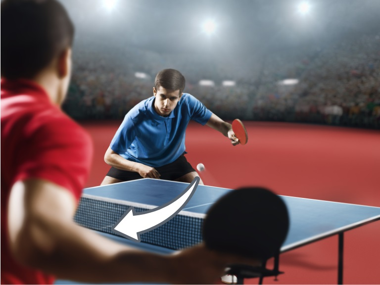 How to get spin on ping pong balls for beginners